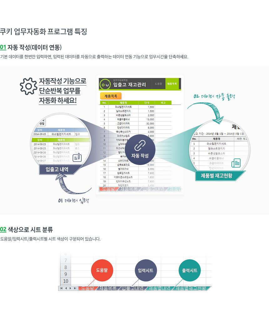 매입매출 통합관리 업무자동화 프로그램(내역저장,월별 매입매출현황)